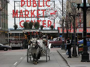 Traffic Jam at the Market